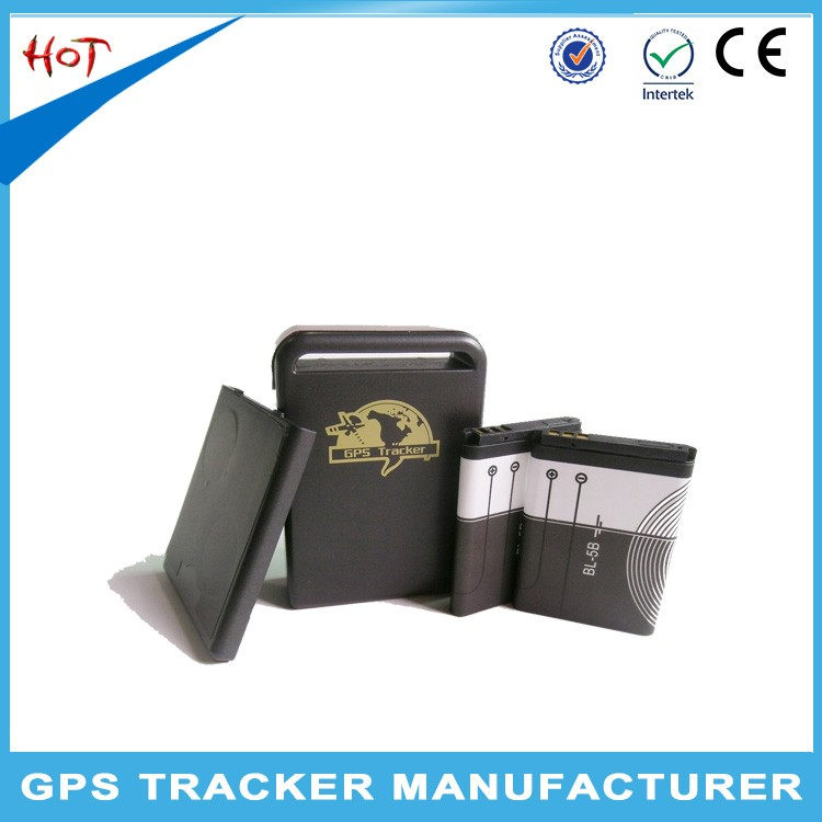 Hot selling mini gps tracker tk102 for pets with car charger
