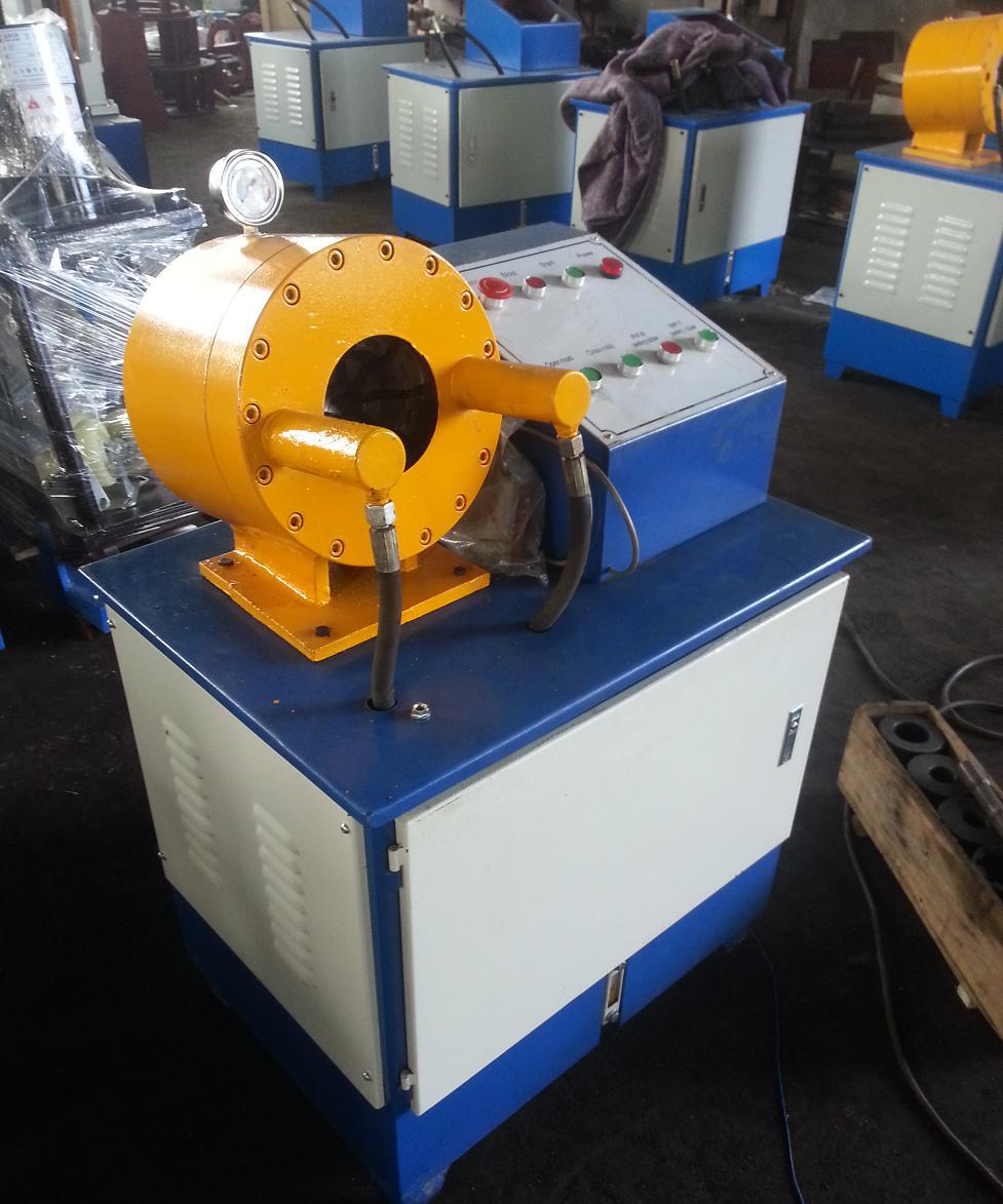 new hose crimping machine /vertical hose crimping machine for hydraulic hose and pipe steel