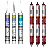 linyi factory price neutral rtv silicone structural sealant/glue/adhesives