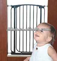 Metal Baby Safety Gates Baby safety door pet dog gate door