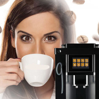 High Level Plastic Housing Automatic Cappuccino