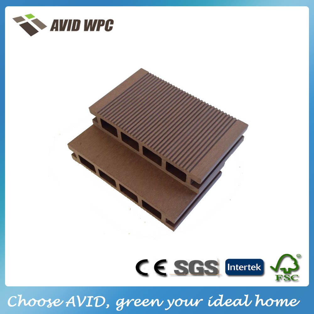 Factory price and waterproof wpc flooring/wpc outdoor flooring for sale