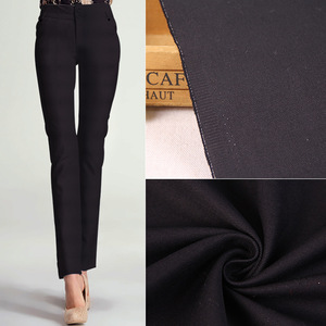 Alibaba textile 20*16 128*60 vat dyed 100% cotton black twill pants fabric