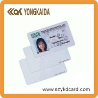 Custom PVC Rfid Smart Card Photo ID Card For School Student