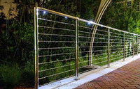 American style&durable& affordable stainless steel railing accessories