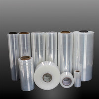 Resistant super clear crystal wraping film for packaging