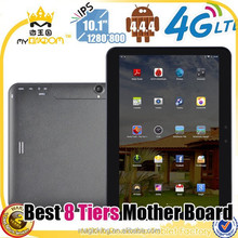 10 inch MTK8732 Quad core 4g lte tablet android tablet 4g gps wifi with sim card slot