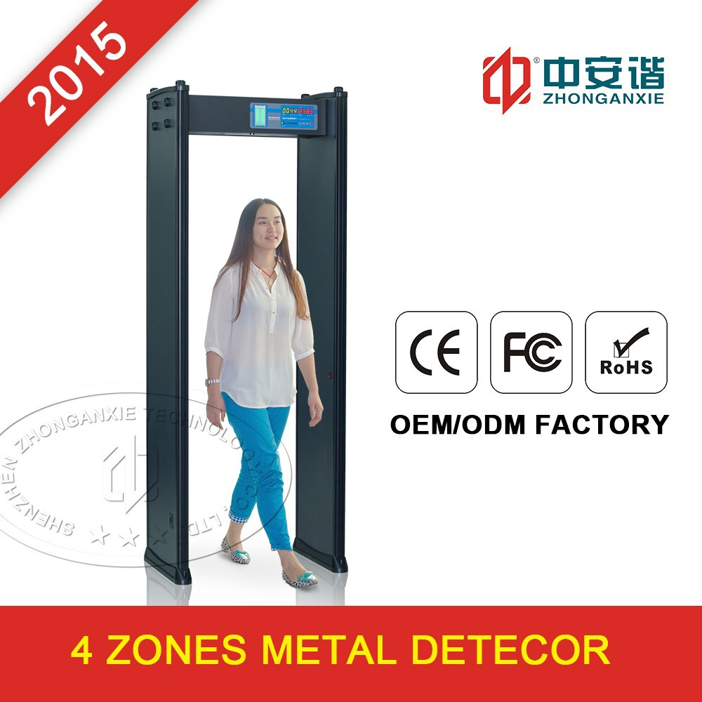 Security metal detector school - High Sensitive Selfdiagnosis Walk Through Security Metal Detector Body Scanners For Entertainment Places