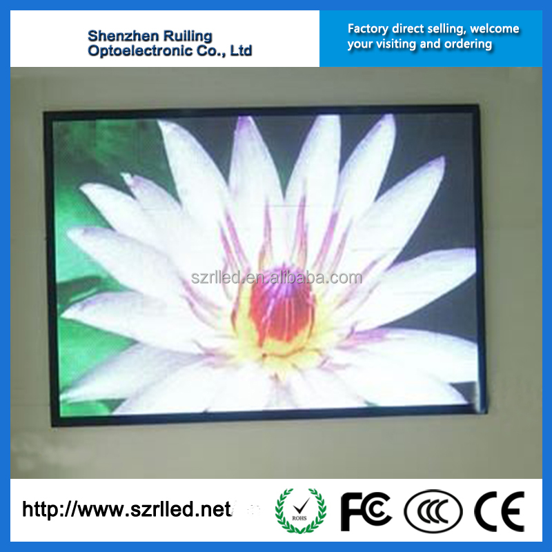4mm Pixel Pitch Panel Price Indoor LED Display Screen