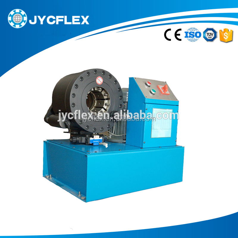 steel pipe crimping JYC-E38 tube swaging machine for sale
