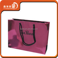 Hot selling sexy beautiful paper shopping bags for women underwear