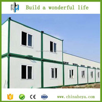 Brand new pre-made container house for refugee