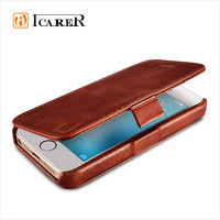 Genuine Leather Wallet Case with Card Slots for iPhone SE 5 5s