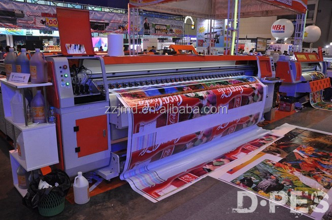 1.8meter / 3.2meter eco solvent printer with 2pcs DX5 printer head