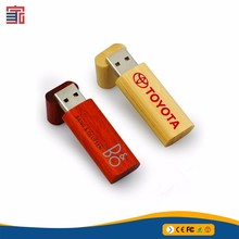 ODM supplier wood kids usb flash drive for promotional