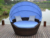 contemporary modern garden outdoor furniture round daybed with canopy
