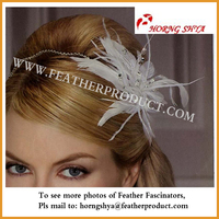 Feather and Beaded Headbands for Women
