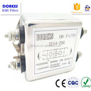Noise Filter Three Phase AC Filters Hig Performance Filter