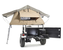 Kindleplate off road hard floor folding tent camper trailer with 12 years experience in manufacturing trailers