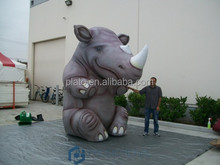 Giant inflatable rhino for sale