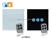 RF Wireless Remote Control Light Wall WiFi Touch Switch for Home Automation Giant JJ-TSB-03