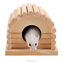 hot-sale Mini Hamster arch form Small Animal Bird Parrot Wooden Pet Cage