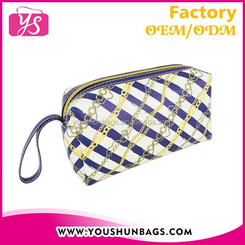 Promotional PU Travel pouch with hand strap