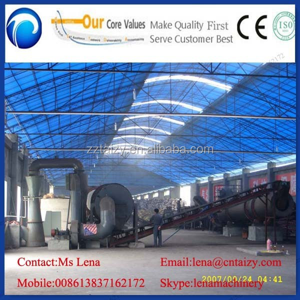 Automatic organic fertilizer production line,machine for making organic chicken manure fertilizer