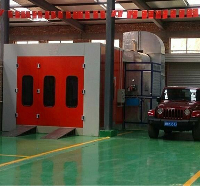 Aibaba China CE approved car spray boot/spray booth for sale