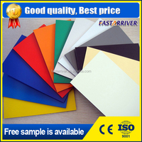 2016 new marble design Color painted pvdf aluminum coating sheet