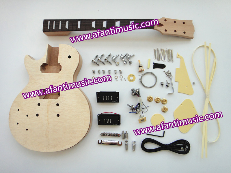 Afanti Music / Left Hand / Standard Style / Electric Guitar Kit (SDD-165K)