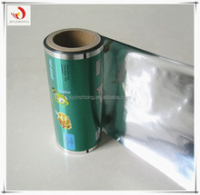 Plastic laminating pouch film with great print for popcorn packaging