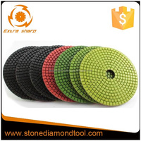 7 Step 7 Pneumatic Angle Grinder Polishing Pads