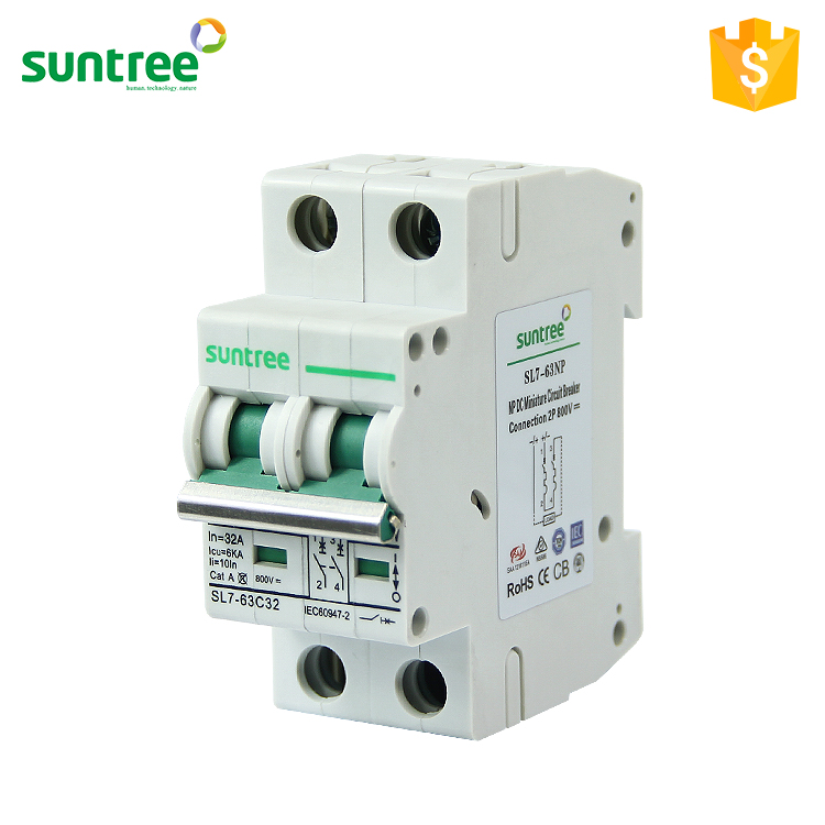 Suntree Best Price High Quality Sl7 Polarity Dc Circuit Breaker ...