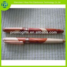Novelty 2014 wooden fountain pen and wooden roller pen sets