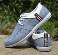 Handsome fashion shoes men sports casual man flat custom canvas shoes