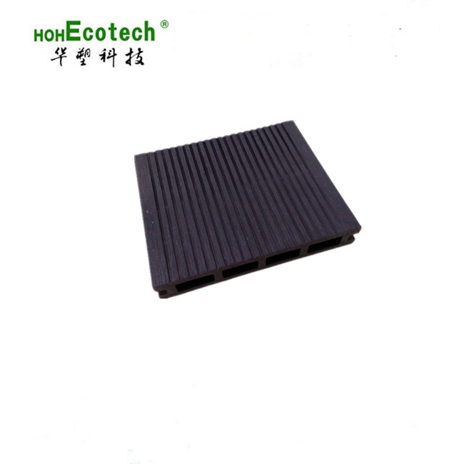Wood-Plastic Composite <strong>Flooring</strong> Technics and teak/grey Color Anti UV floor