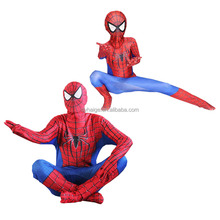 hot sale spiderman costume for adults and kids
