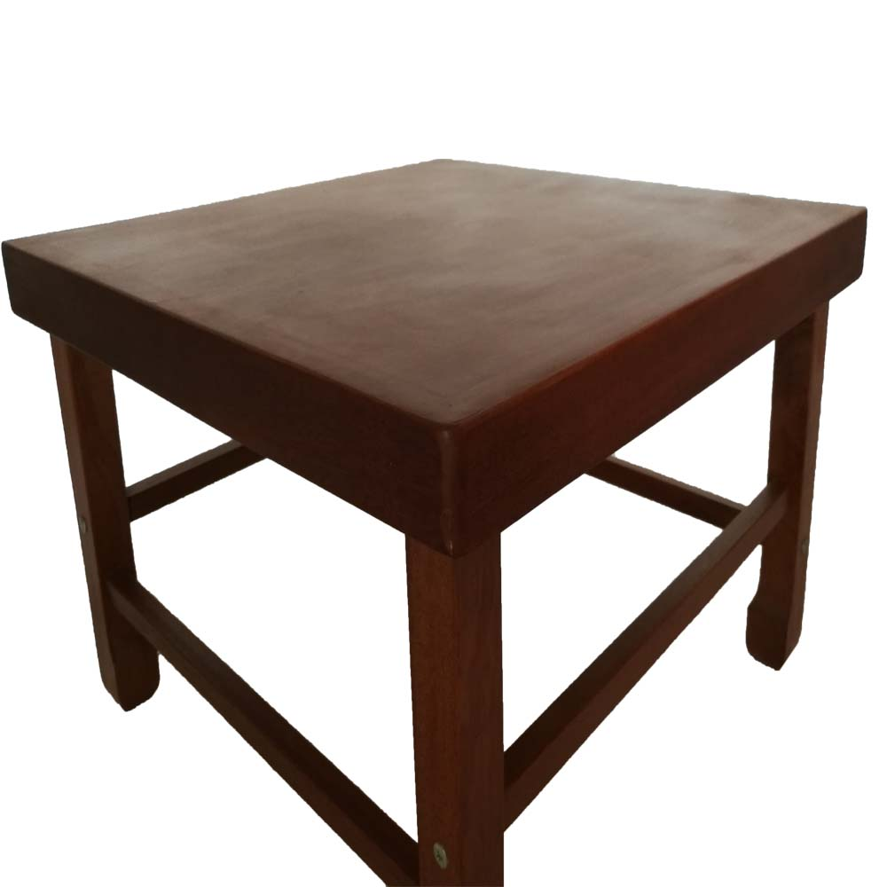 Hot sale Counter Height Square Wood Dining Table wedding table