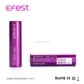 Efest battery 18650 3.7v rechargeable battery Efest 18650 3500mah battery