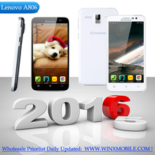 Original Lenovo A8 A806 Smartphone 5.0 Inch 1280 x 720 Android 4.4 MTK6592 Octa Core Mobile phone 13.0MP 2G RAM 16G Cell phone