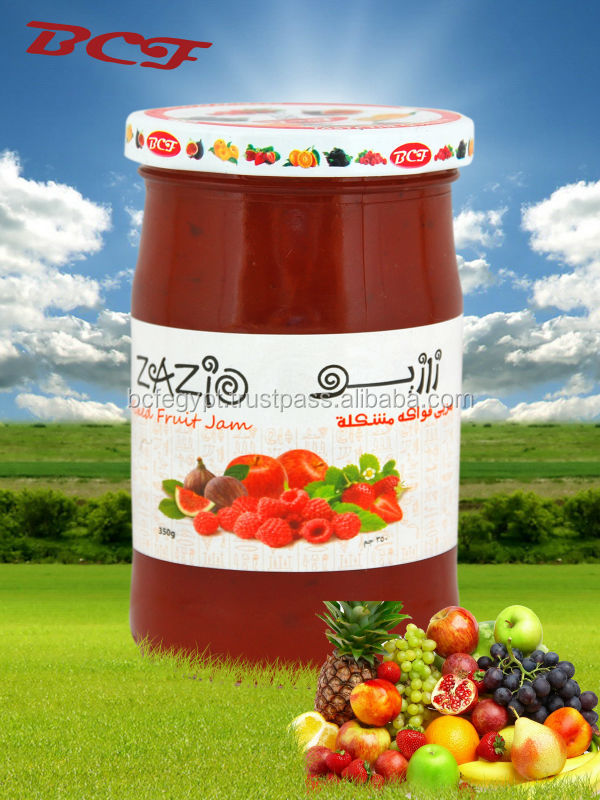 Zazio Mixed Fruit Jam 350g