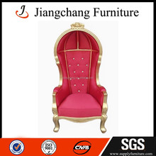 Wooden red canopy chair JC-K104