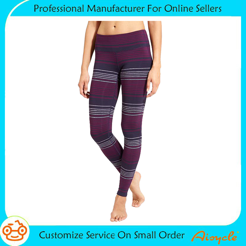 High quality Sexy Women fitness Comfortable Yoga pants high elastic gym pants outdoor jogging wear
