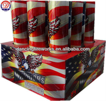 9 Shots Shaped cake 1.4g consumer fireworks