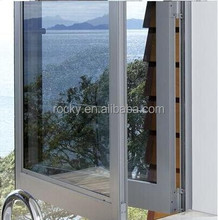 ROCKY brand customized aluminum Bifold window