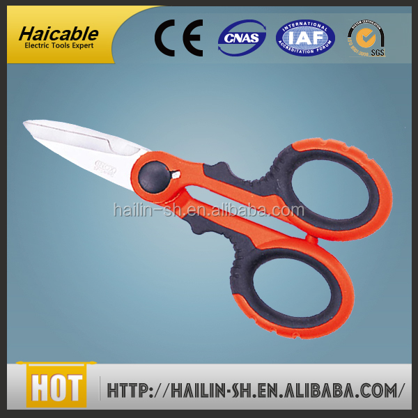 Best-seller Multi-function Hand Cable Scissor Tools Wire Cutter Blade Made in USA KC-524S