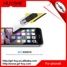 HUYSHE tempered glass for mobile phone, bulletproof glass for mobile phone smart phone, glass screen protector for iphone 6s