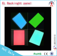 light emitting el paper/el paper thin lighting/circle el panel