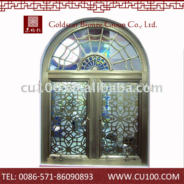 Nice looking durable high quality oem zhejiang useful metal window grills design